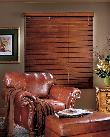 Delray Beach --2 1/2 inch Horizontal Wood Blinds with ladders