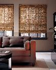 Hunter Douglas Roman Style Woven Wood Shades / Blinds-- Downtown West  Palm Beach Florida