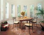 White Composite/Faux  Wood that Plantation Shutters for Bay areaof this Singer Island Florida Apartment/Townhouse