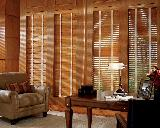 Hunter Douglas Faux Wood Blinds with Tapes-- West Palm Beach Florida