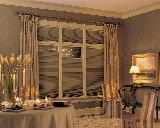 Hunter Douglas Duette Top Down Bottom Up Duette Shades in Boca Baton Dining Room Elegance