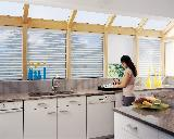 Hunter Douglas Remote Control Motorized Silhouette Window Shades/Blinds in Exceptional Palm Beach Island Home