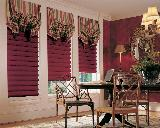 Hunter Douglas Vignette Window Shades/Blinds with Gathered Top Treatment -- Jupiter Florida Oceanfront Residence
