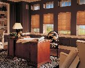 Hunter Douglas Duette Honeycomb/Cellular Window Shades/Blinds in office location -- Jupiter Island Florida