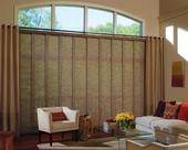 Palm Beach County Florida -- Skyline Window Panels For Sliding Glass Doors with grommet drapery panels