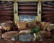 Boynton Beach Florida --Decorative Tassels and Horizontal Wood Blinds