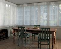 Singer Island Florida Residence with luminette blinds/shades -- center opening