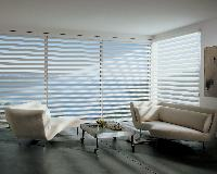 Oceanfront in Palm Beach Florida --Pirouette Window Shadings Hunter Douglas