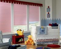 Cool Baby's  Roomwith Vignette Modern Roman Shades in Pink -- Jupiter Inlet Colony Florida