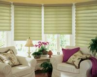 Singer Island Florida -- Hunter Douglas Vignette Blinds/Shades -- Translucent Version