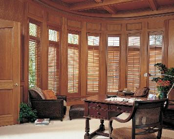 Hunter Douglas Heritage Plantation Shutters in Palm Beach Gardens Residence